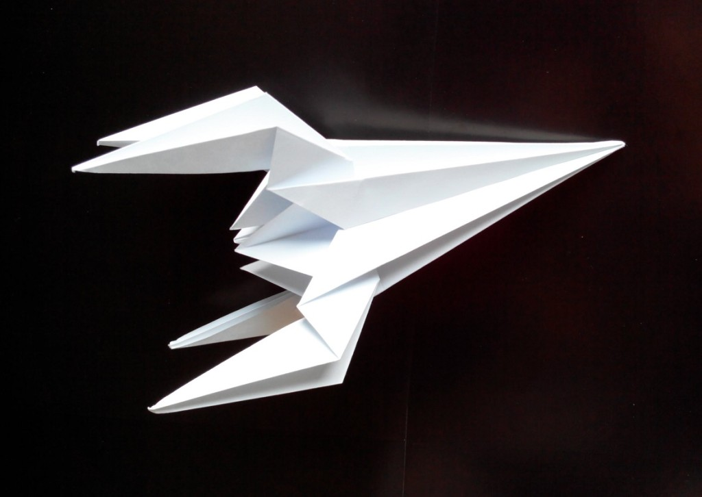 Ракета оригами (Lawrence de Galan)