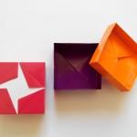 Коробочка со звездой оригами (Darren Scott)