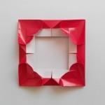 Рамка для фотографий оригами (Leyla Torres)