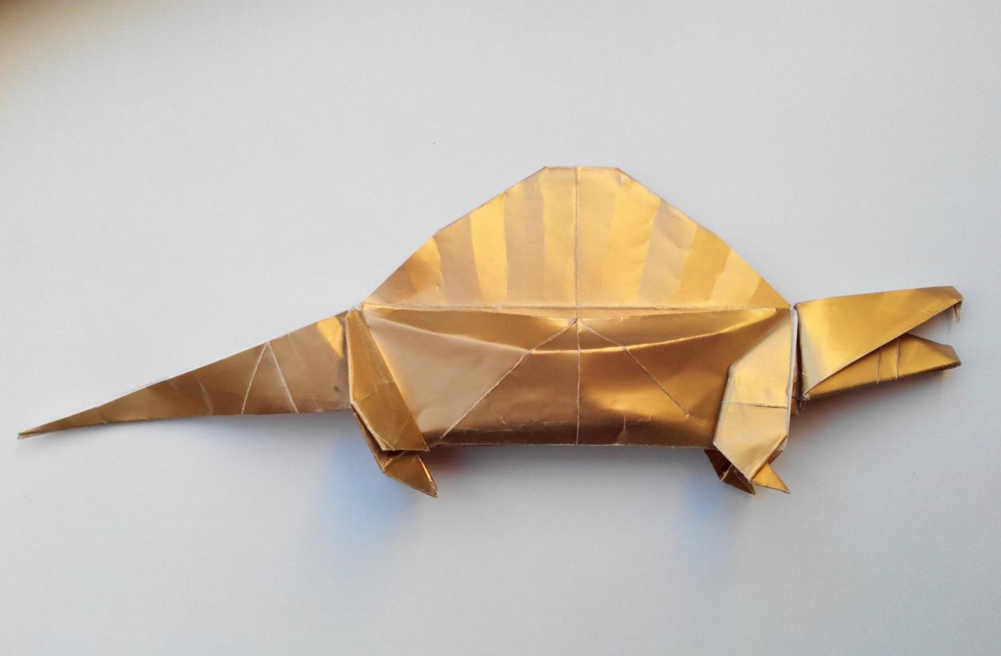 Диметродон оригами