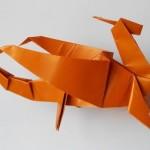Дракон оригами (Robert Neale's)