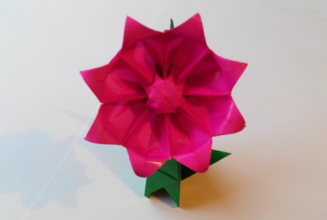 Гербера оригами (Makoto Yamaguchi)