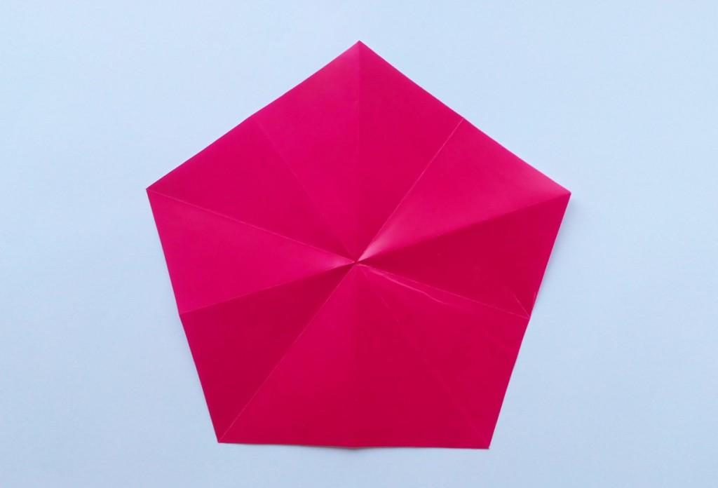 Как сделать пятиугольник