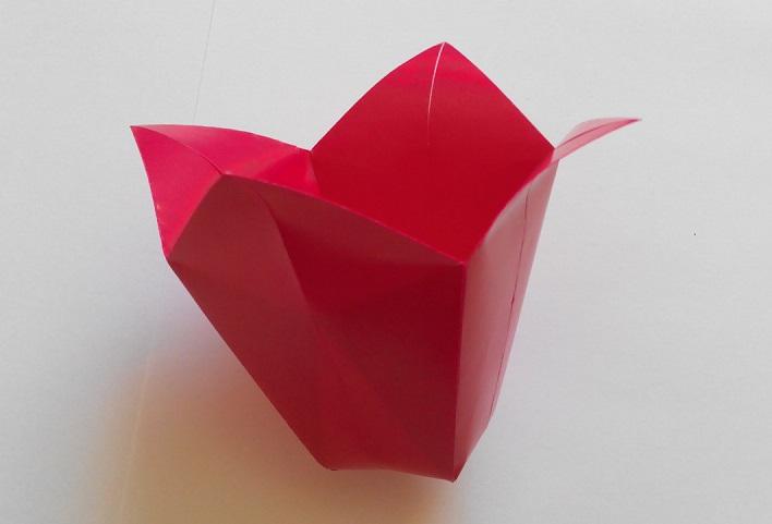 Колокольчик оригами
