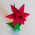 Нарцисс оригами 6 лепестков (František Grebeníček)