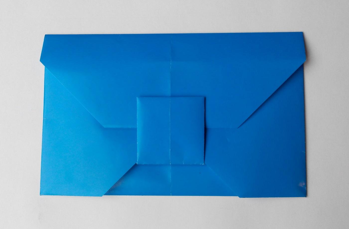 Симпатичный конверт оригами