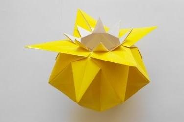Ваза оригами (Jarron)