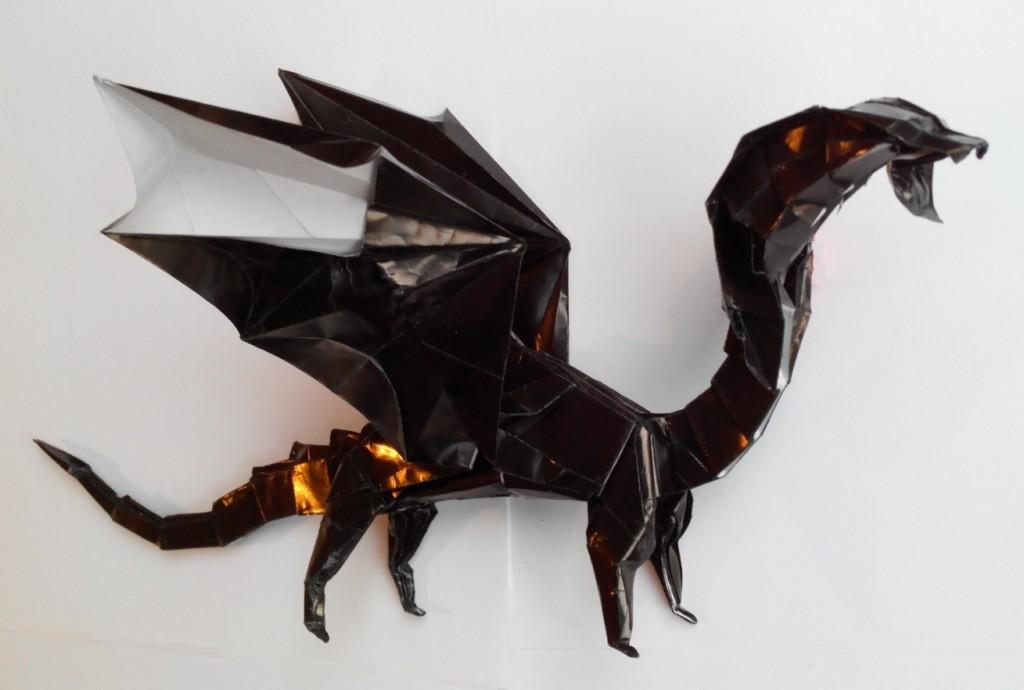 Черный дракон оригами (Алексей Жигулёв)