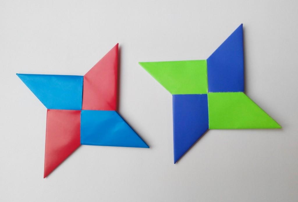 Как сделать Ниндзя Звезду (Сюрикен)