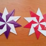Как сделать звездочку оригами