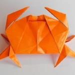 Морской краб оригами (Jun Maekawa)