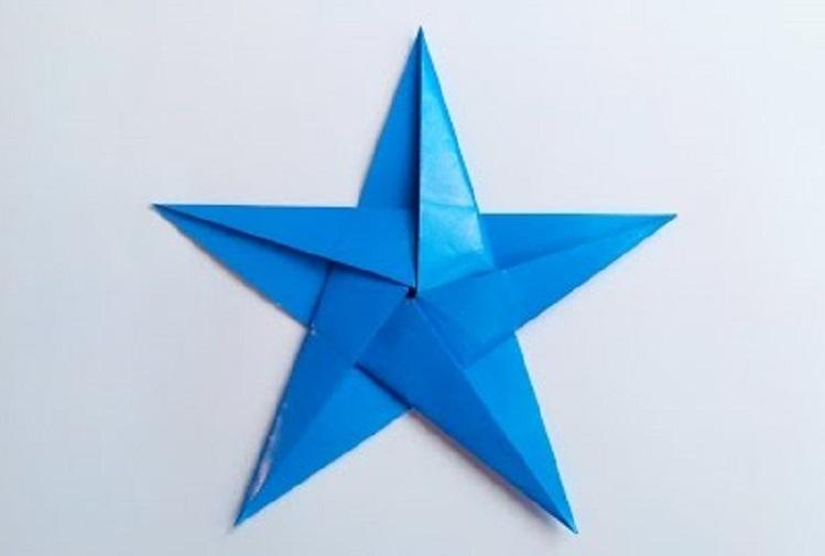 Пятиконечная Звездочка оригами