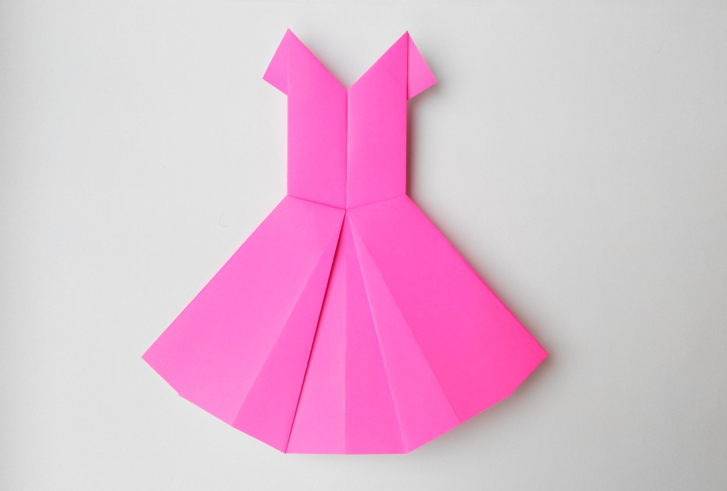 Сарафан оригами