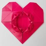 Сердечко оригами