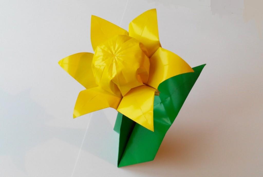 Цветок шесть лепестков оригами (Lionel Albertino)