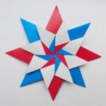 Звезда оригами «Carla Mandala Star» (Maria Sinayskaya)