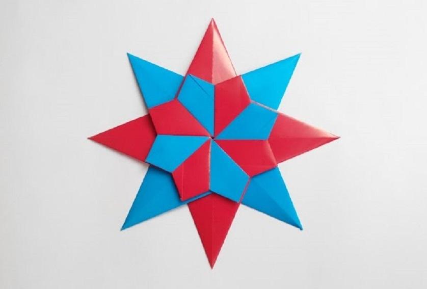 Как сделать звезду оригами