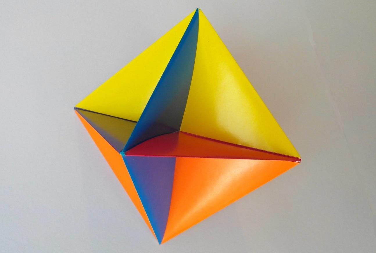 Шар игрушка (Robert Neale) оригами