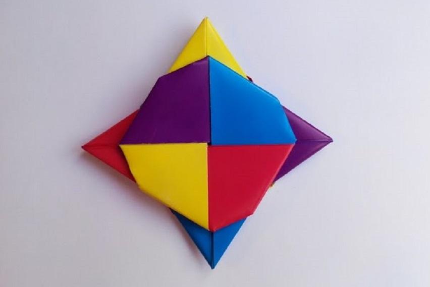 Звезда Ниндзя (Сюрикен) из бумаги
