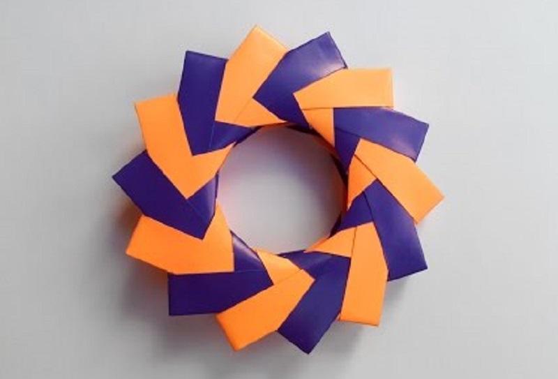 Звездочка объемная оригами 3D