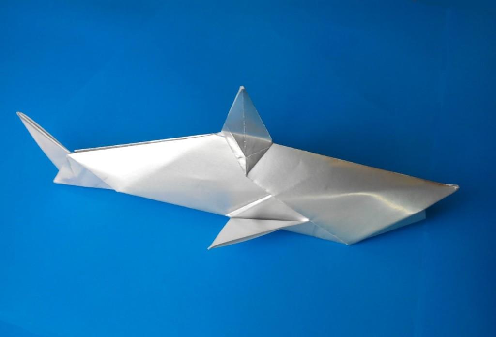 Акула оригами (Anita Barbour)