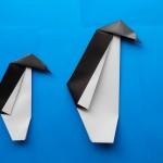 Как сделать пингвина оригами