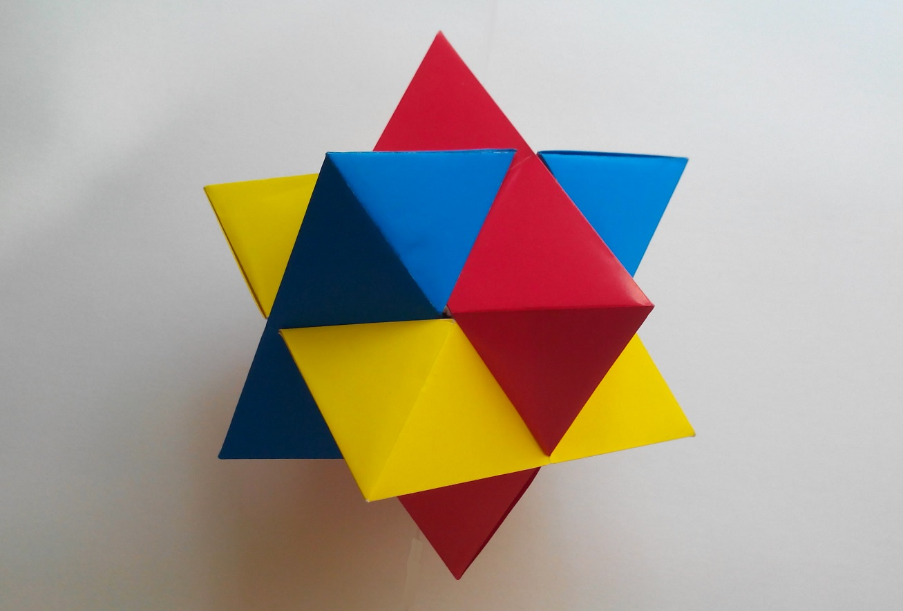 Оригами бумаги головоломки