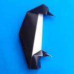 Пингвин с птенцом оригами