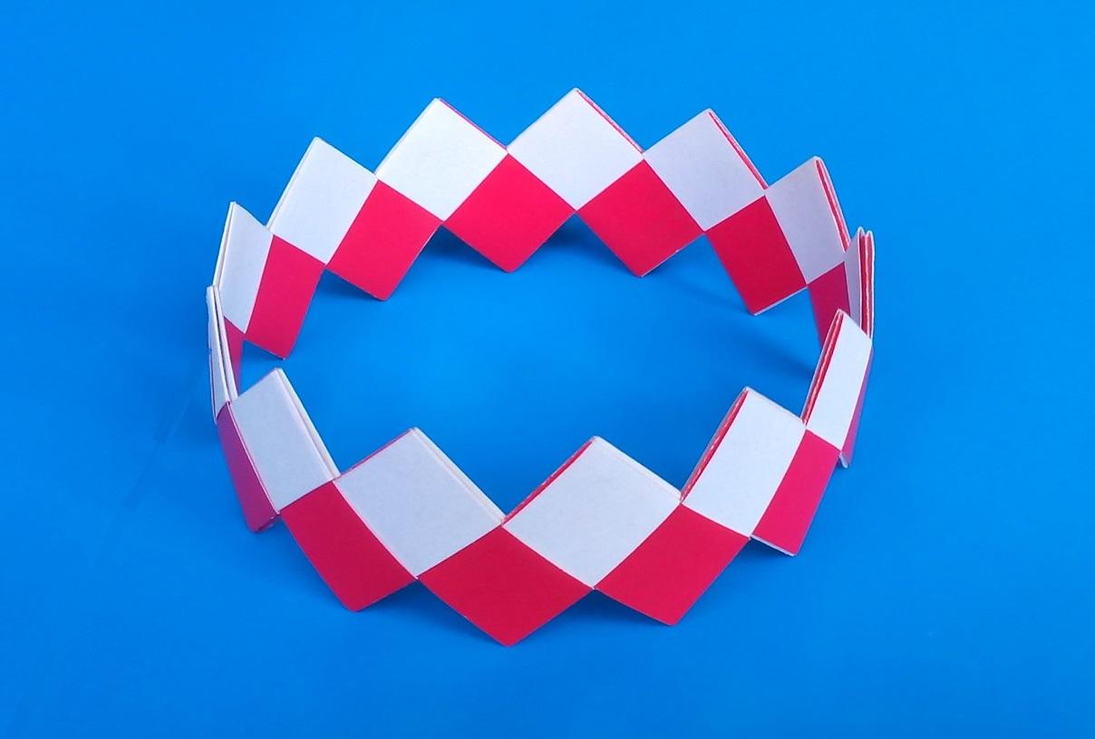 Как сделать браслет оригами