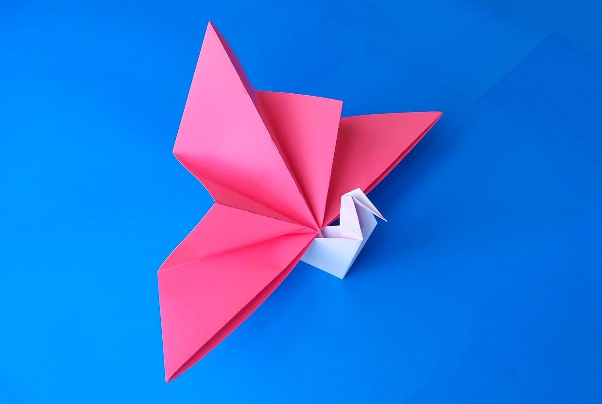 Бумажный Змей Искусство оригами - Part 7