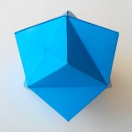 Звездчатый Тетраэдр оригами