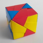 Куб из модулей оригами (Mitsunobu Sonobe)