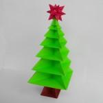 Ёлка оригами (Вариант 2)