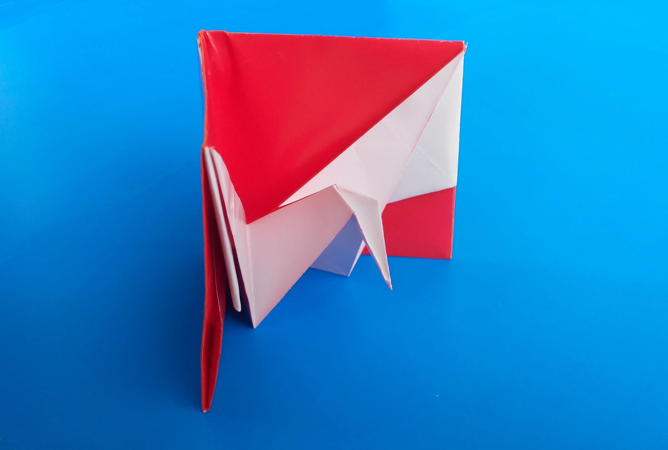 Журавлик в конверте оригами (Jeremy Shafer)