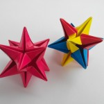 Звезда на ёлку оригами (Philip Shen)