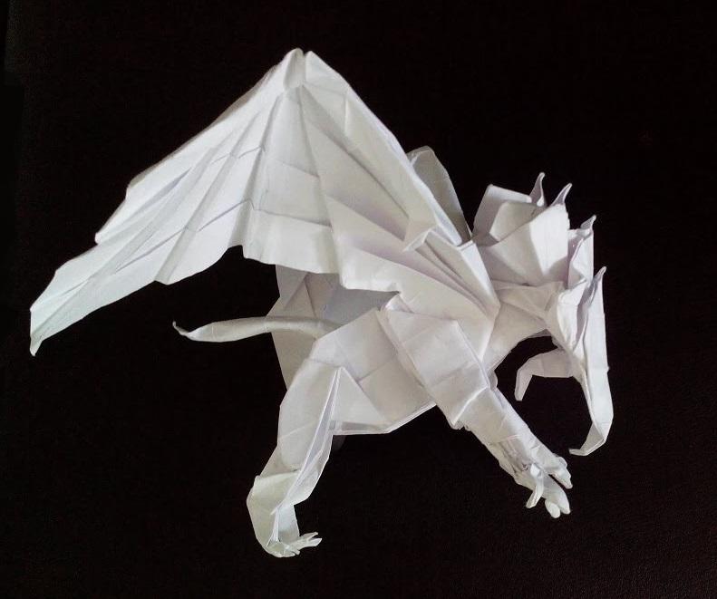 Грифон оригами (Kade Chan)