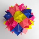 Кусудама цветочная оригами