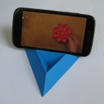 Подставочка для телефона оригами