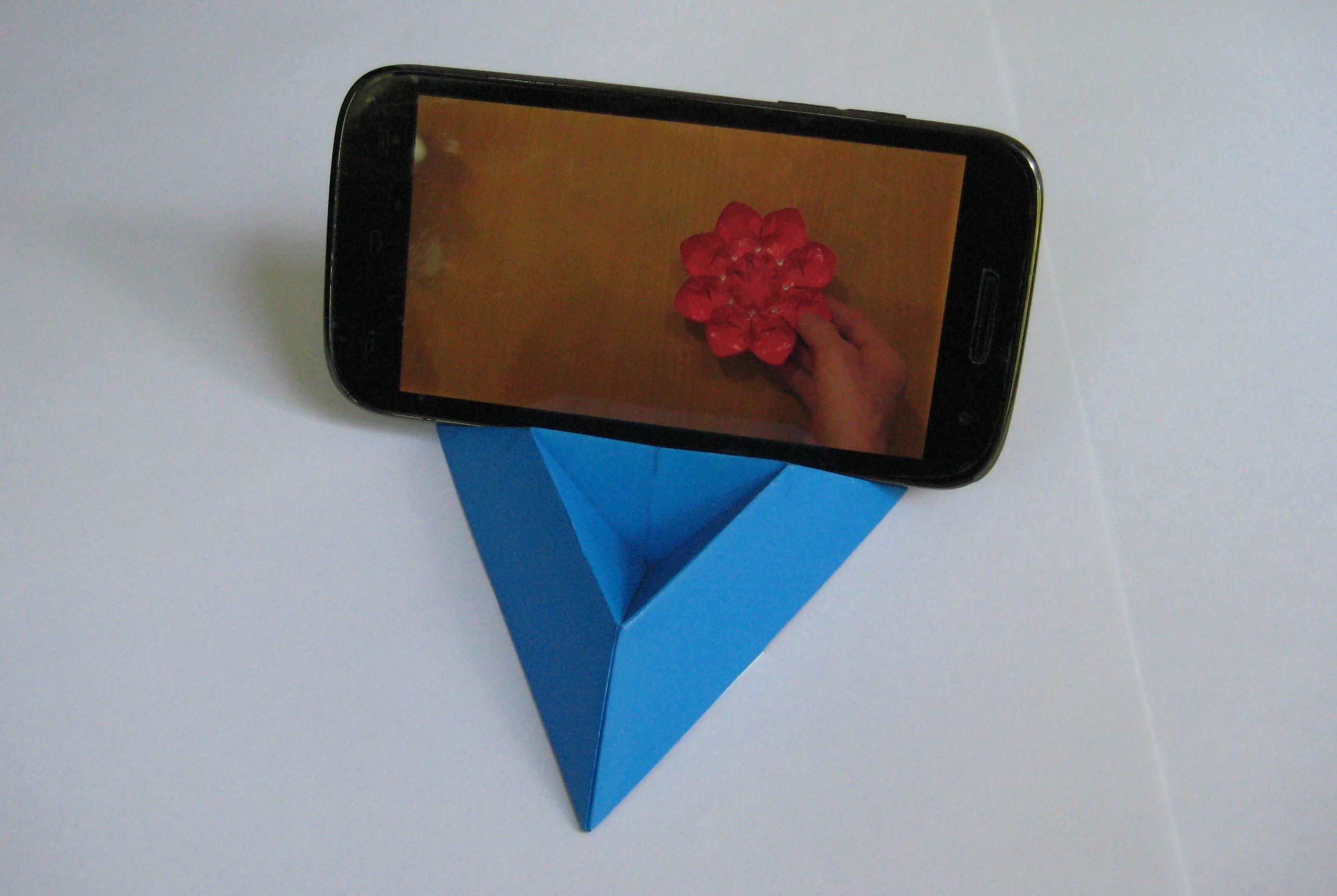 Видео как сделать из бумаги телефон видео