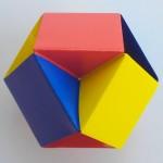 Кусудама маленькая оригами