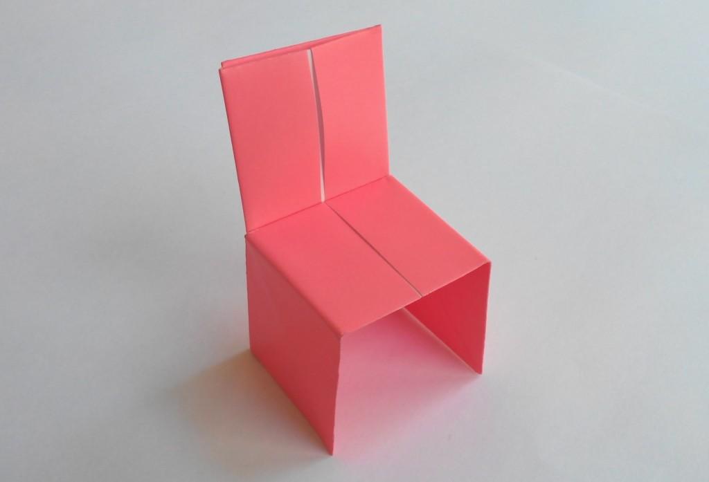 Стул оригами, Origami chair