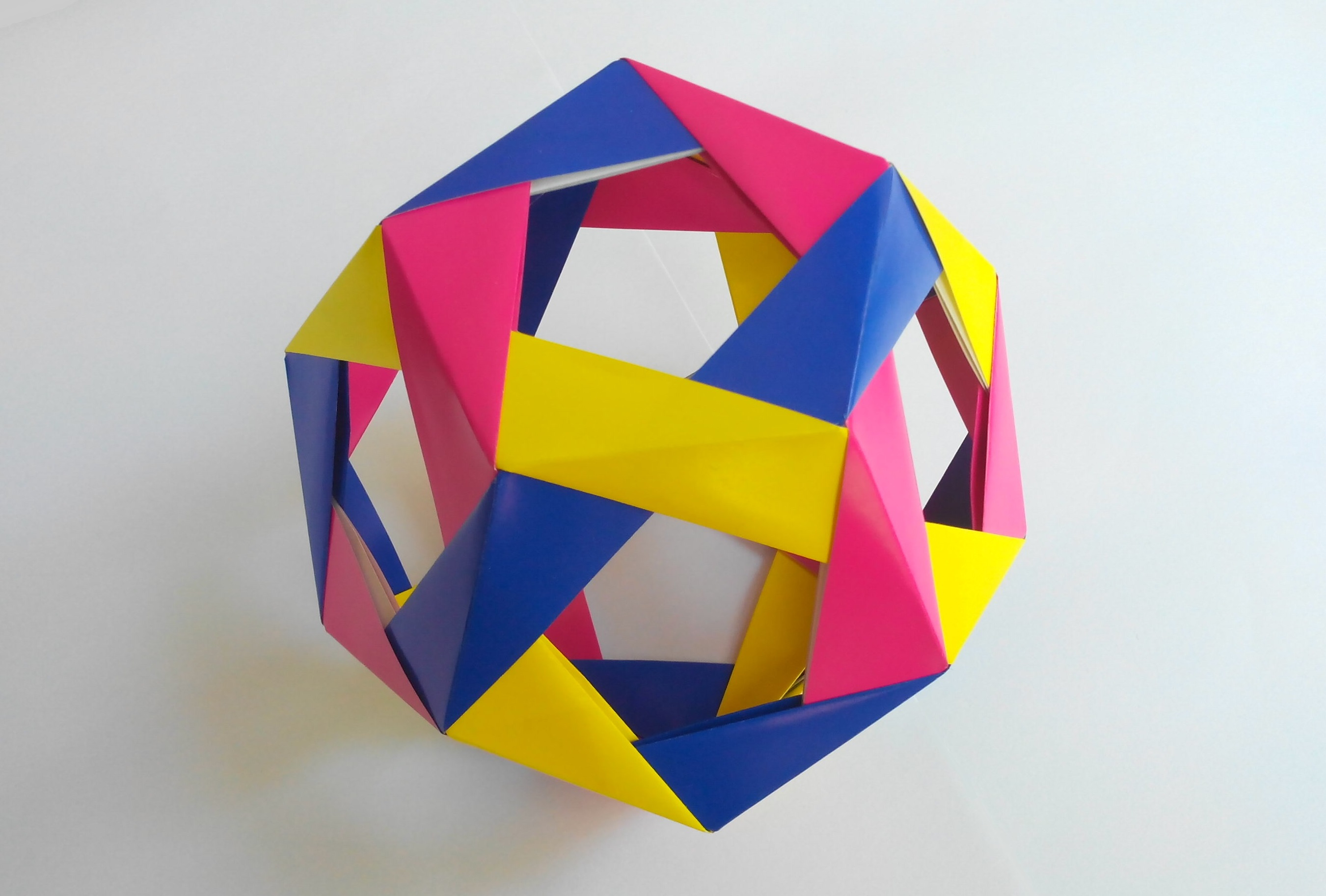 Кусудама додекаидр оригами