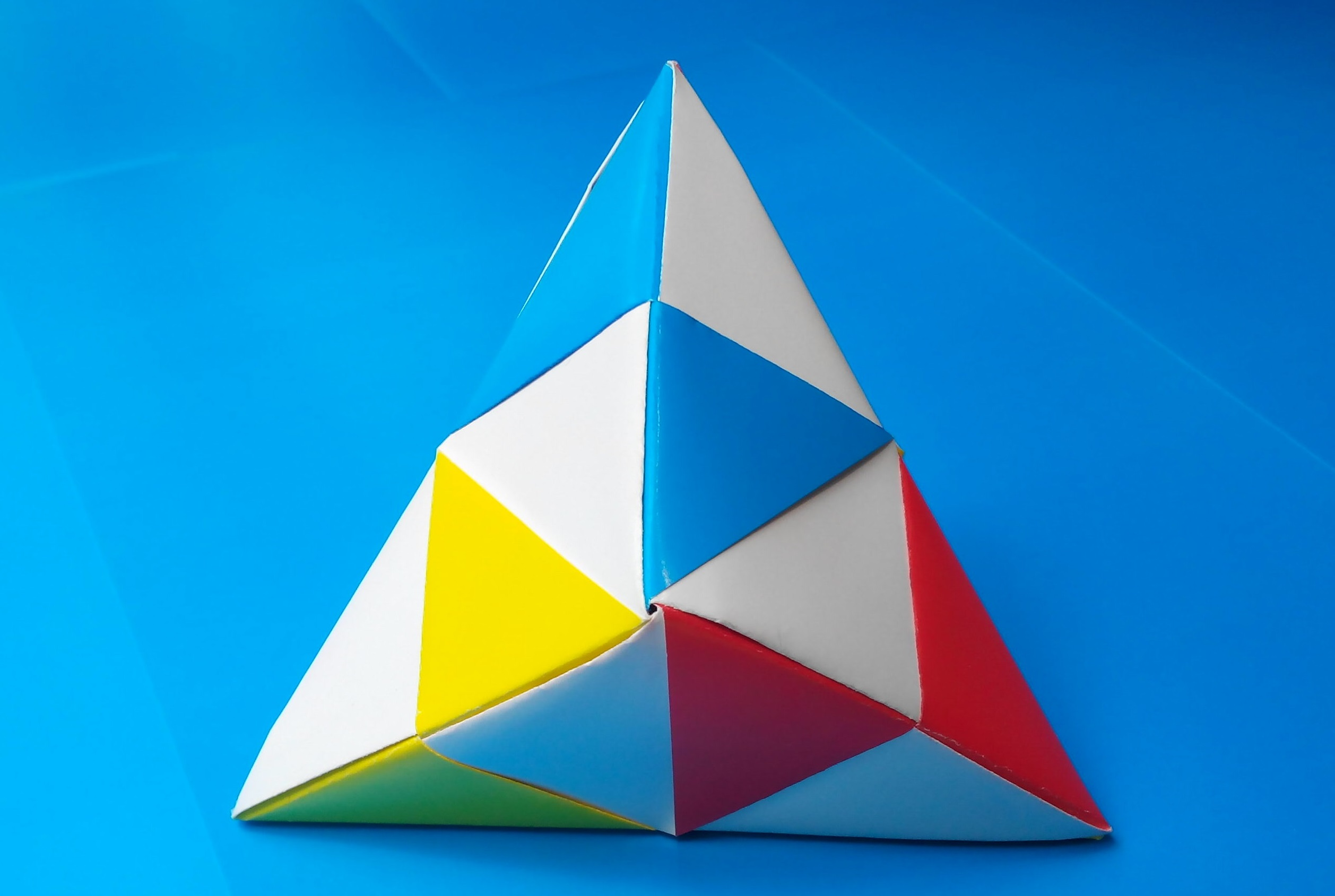 Кусудама треугольная оригами
