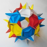 Кусудама Роза шиповника оригами (Алексей Жигулёв)