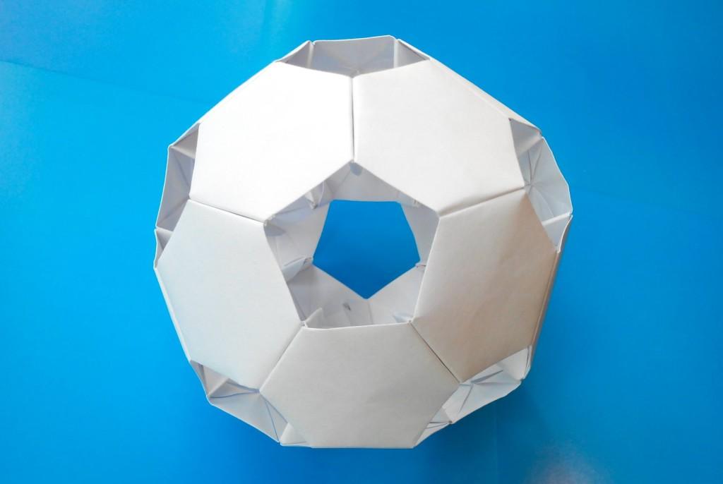 Кусудама Футбольный мяч оригами (Алексей Жигулёв)
