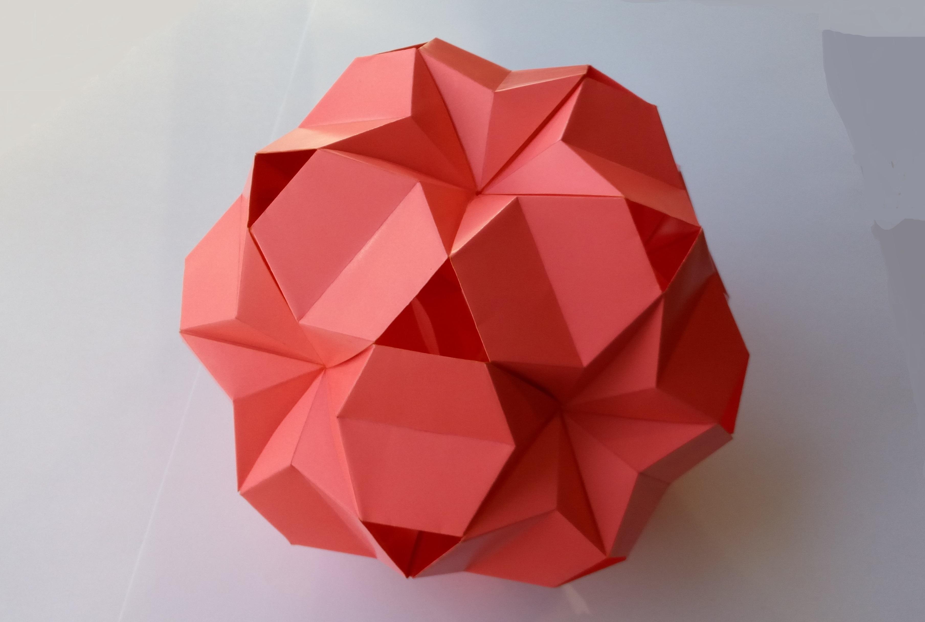 Кусудама Звезда оригами