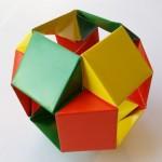 Простая Кусудама оригами (Tomoko Fuse)