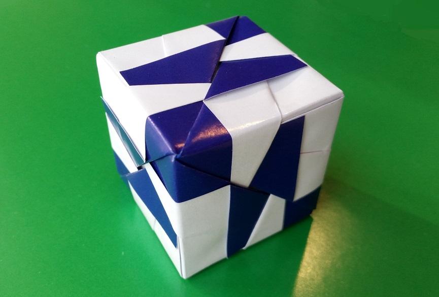 Простой кубик оригами