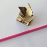 Маленькая вертушка от воздуха оригами (Yami Yamauchi)