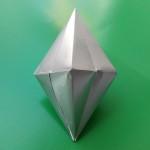 Кристалл из бумаги